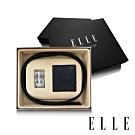 ELLE HOMME 男爵系列-真皮皮夾+皮帶禮盒-兩件組A9003