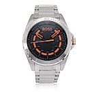 Hugo Boss Orange黑色錶盤紋理不袗男腕錶1513202-46mm