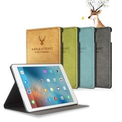 ANTIAN iPad 2/3/4 智慧休眠平板電腦皮套 北歐風鹿紋皮套