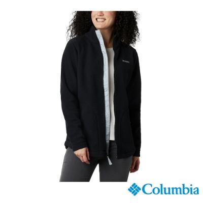 Columbia 哥倫比亞 女款- Omni HEAT 鋁點保暖毛絨外套-黑色 UAL28860BK