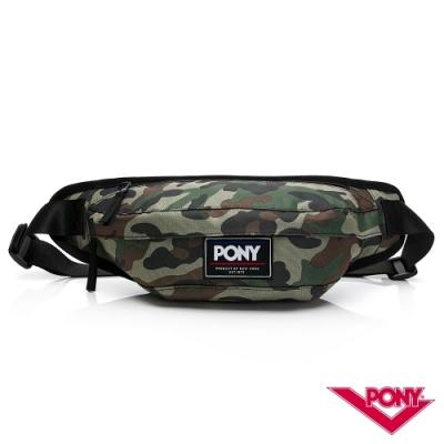 【PONY】運動休閒單肩胸背包 斜背包 腰包 3色
