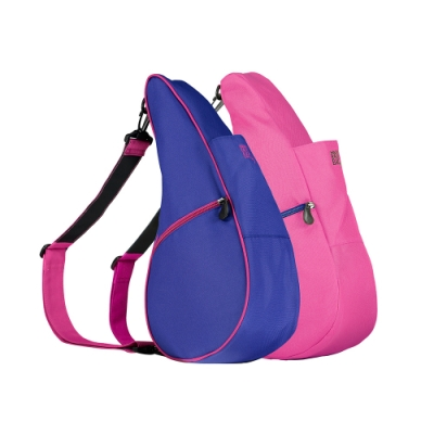 Healthy Back Bag 雙面水滴單肩側背包-S 紫色桃紅