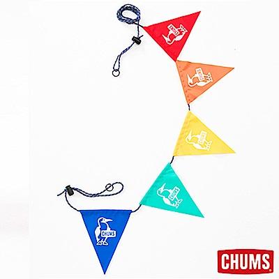 CHUMS 日本 露營三角彩旗 彩色BOOBY