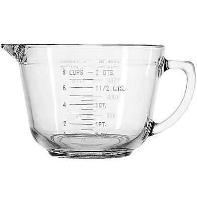 《FOXRUN》Anchor握柄耐熱玻璃量杯(2000ml)