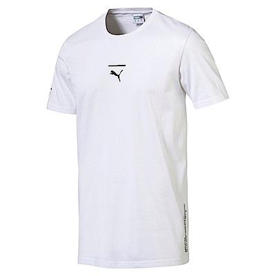PUMA-男性流行系列Pace短袖T恤-白色-亞規