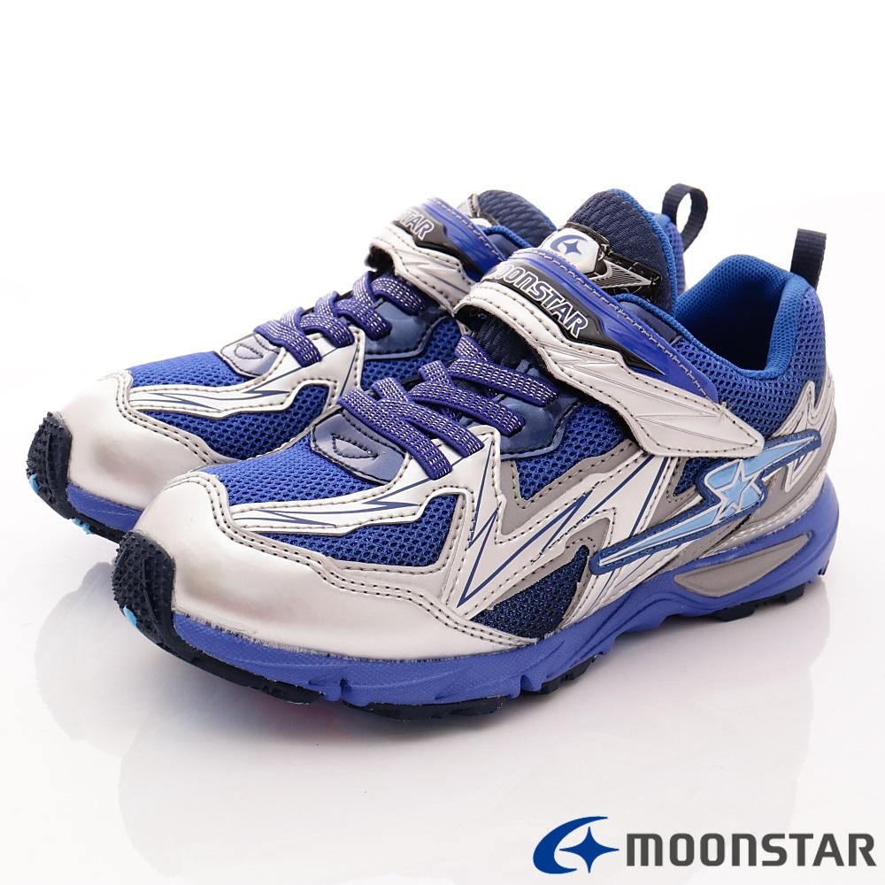 日本月星頂級競速童鞋 2E閃電衝刺系列 SE435藍(中大童段)