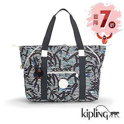 Kipling 手提包 叢林印花-大