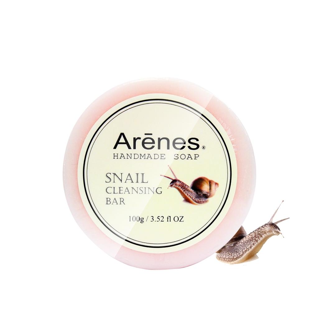 Arenes 蝸牛晶萃滑絲美膚皂100g