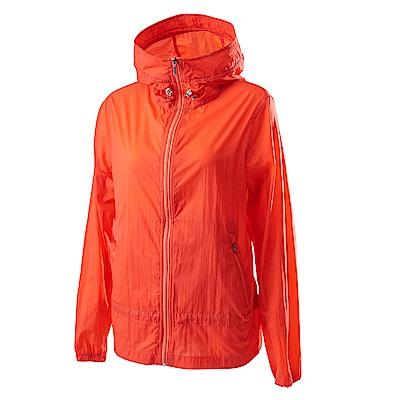 Wildland荒野女15D超輕低防水高透氣外套橘色
