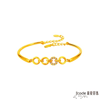 J code真愛密碼 緣份黃金手環