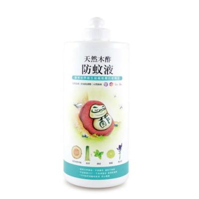 【木酢達人】溫和親膚天然木酢防蚊液補充罐1000ml (嬰幼兒適用)