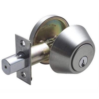 加安輔助鎖 DA61 補助鎖 門鎖 60mm 扁平鑰匙 單面 門厚35-51mm 防火級