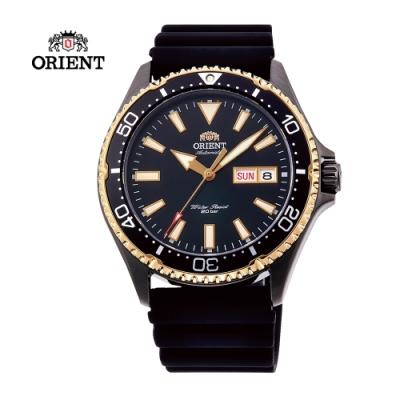 ORIENT 東方錶 WATER RESISTANT系列200m潛水錶-黑色41.8 mm