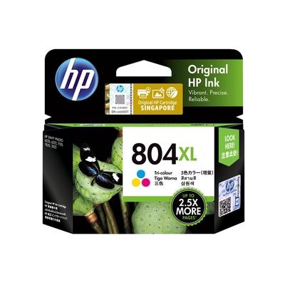 HP 804XL T6N11AA 彩色 高容量 原廠墨水匣 適用HP ENVY Photo 6222/HP Tango/Tango X