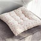 【日系良品】棉麻柔軟加厚透氣坐墊(45*45cm)