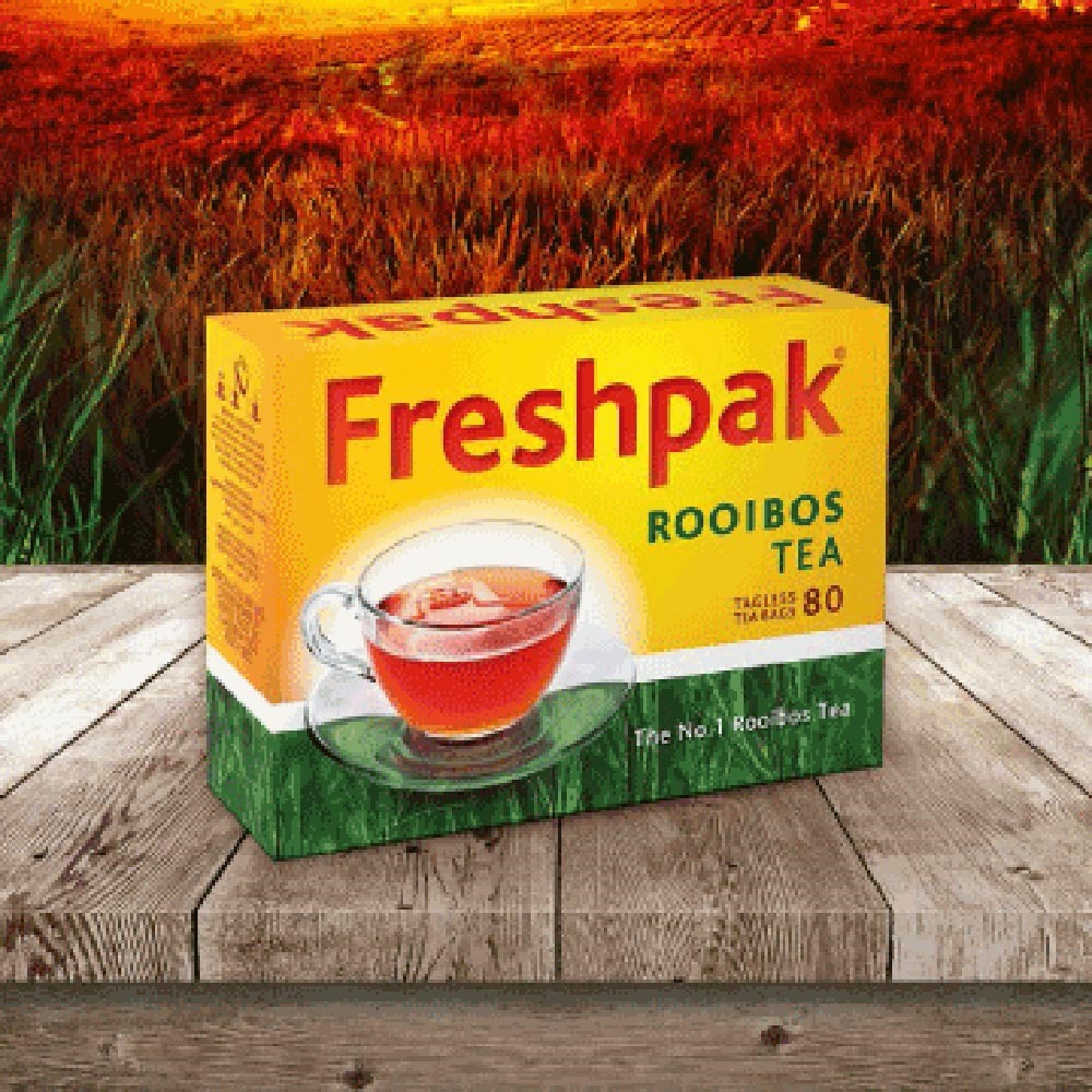 Freshpak 南非國寶茶(RooibosTea)茶包x80入