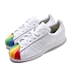adidas 休閒鞋 Superstar 復古 低筒 女鞋 海外限定 愛迪達 三葉草 彩虹 貝殼頭 白 彩 EG8140 product thumbnail 1