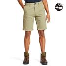 Timberland 男款抹茶綠休閒簡約短褲|A2BGN