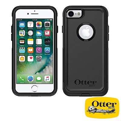 OtterBox iPhone7 / iPhone8通勤者系列保護殼-純黑