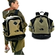 The North Face 新款 WASATCCH 多功能舒適後背包35L_綠/黑 N product thumbnail 1
