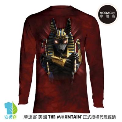 摩達客 美國進口The Mountain 胡狼戰士 純棉長袖T恤