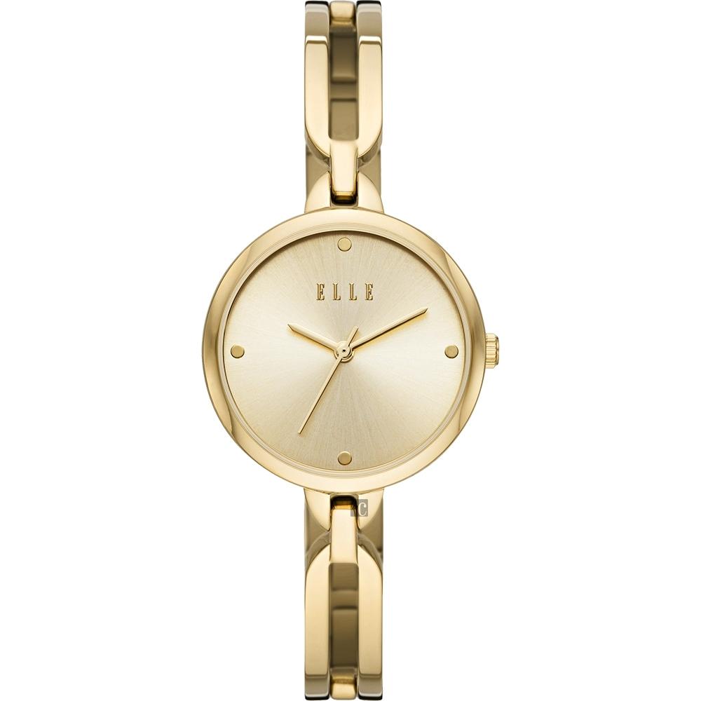 ELLE Wagram 系列 手鍊式時尚女錶-金/32mm ELL21013