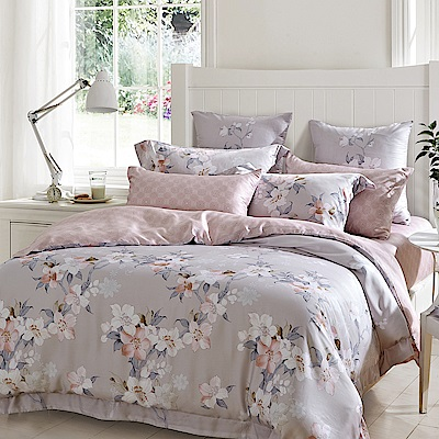 Lily Royal 60支頂級天絲 三件式床包組 加大 秋風的底語