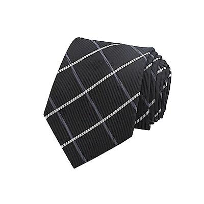 拉福   格灣8CM寬版領帶拉鍊領帶(兒童)