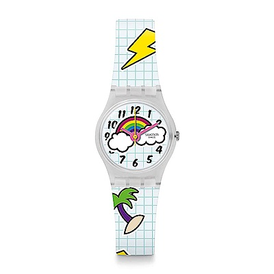 Swatch THINK FUN系列 SCHOOL BREAK 下課時光手錶