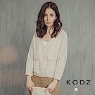 東京著衣-KODZ 都會時髦大口袋襯衫式小外套-S.M.L(共二色)