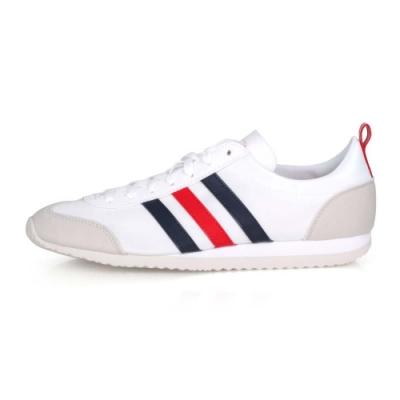 ADIDAS 男 運動休閒鞋 VS JOG 白灰紅藍