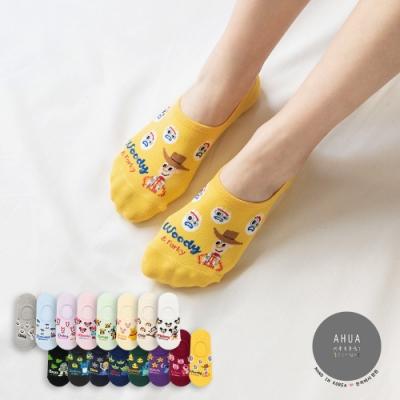 阿華有事嗎  韓國襪子 迪士尼滿版小頭隱形襪  韓妞必備 正韓百搭純棉襪