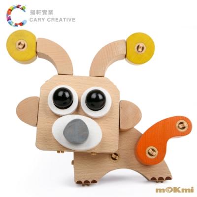 mOKmi x umu 木可米360°扣木製積木-可愛動物組