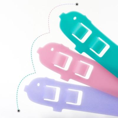 【 HotDog 】Q版口罩防勒2段可調護耳神器-小顏/幼兒童用 (3組共12入)