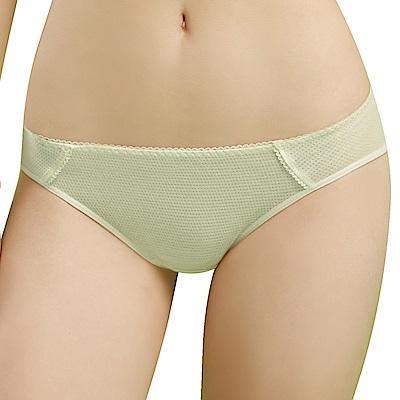 思薇爾 豬寶貝自由風系列M-XL素面低腰三角內褲(香草奶)