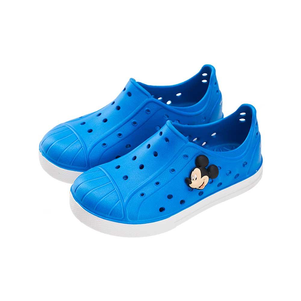 迪士尼童鞋 米奇 經典防水休閒便鞋-藍