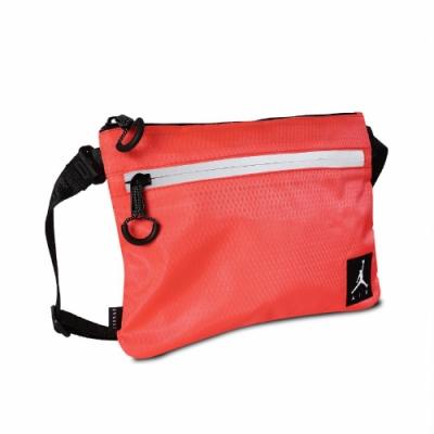 Nike 斜背包 Jordan Shoulder Bag 喬丹 飛人 外出 小包 穿搭推薦 反光 橘 黑 JD2123010GS002