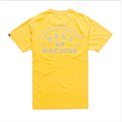 Deus Ex Machina  Roller Camperdown Address T恤 -(黃)