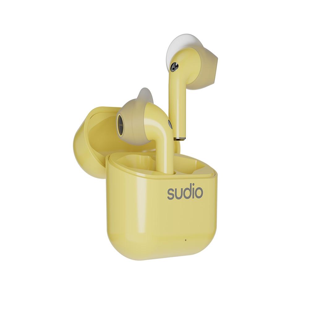 SUDIO NIO真無線藍牙耳機- 檸檬黃