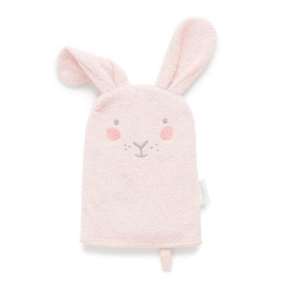 澳洲Purebaby有機棉洗澡手套-共兩色