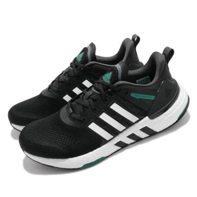 adidas 慢跑鞋 Equipment+ 運動休閒 男鞋 愛迪達 三線 Boost底 緩震 穿搭 黑 白 H02759