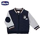 chicco- 小熊學校-剪接配色棒球外套