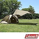 Coleman CM-33799_綠橄欖版 4-6人透氣圓頂露營帳IV套裝組