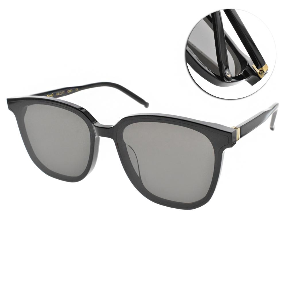 NINE ACCORD太陽眼鏡 修飾大框款/黑-灰 #HORN NERO C1