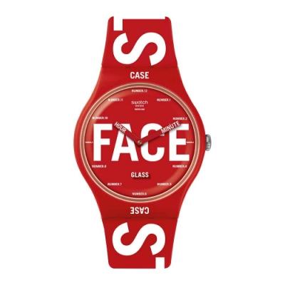 Swatch Bau 包浩斯系列手錶 SWATCHID 秀出自我 - 41mm