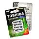 TOSHIBA東芝4號低自放電鎳氫充電電池950mAh(4顆入)送電池盒 product thumbnail 1