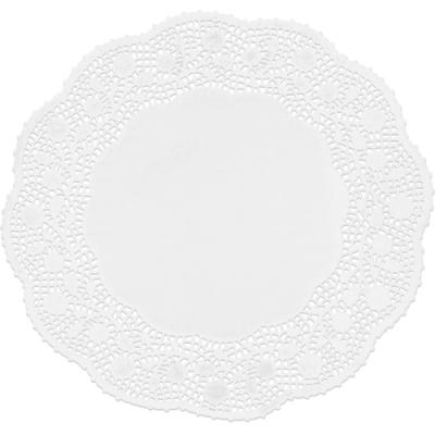 《IBILI》蕾絲花邊蛋糕紙墊10入(圓34cm)