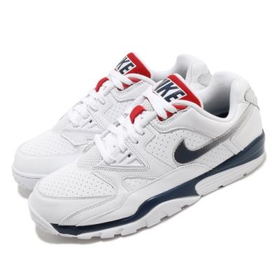 Nike 休閒鞋 Air Cross Trainer 3 男鞋 舒適 皮革 簡約 復古 球鞋 穿搭 白 藍 CN0924100