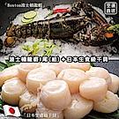 【海陸管家】海鮮雙拼組-波士頓龍蝦+北海道4S干貝