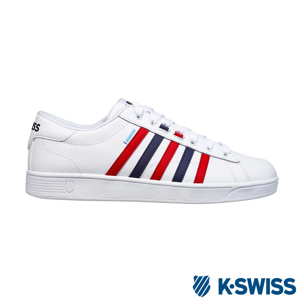 K-SWISS Hoke CMF WP防水系列 休閒運動鞋-女-白/藍/紅